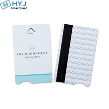 Customized Plastic PVC Hotel RFID Key Card with magnetic