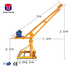 New-style mini 500kg ratchet truck mounted crane for sale with low price