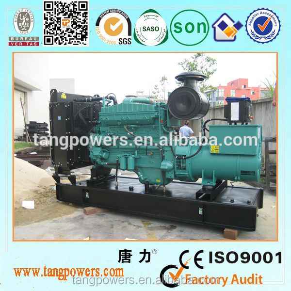 460kw CCEC generator water-cooled open type with CE approved