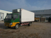 cheap 4x2 4-7Tons /dongfeng vegetable transport truck/refrigerated vehicle for sale