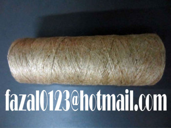28LBS / 1PLY or NM 1.03 / 1PLY or NT 124.60 / 1PLY or 448 OZ / 1PLY SACKING QUALITY JUTE YARN