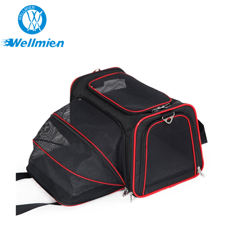 Foldable Airline Approved Expandable Pet Carrier, Outdoor Pet Backpack Carrier