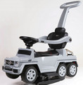 Mercedes Benz Licensed Kids Ride On Car With Push Handle Music And Light