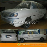 pvc helium advertising inflatable car