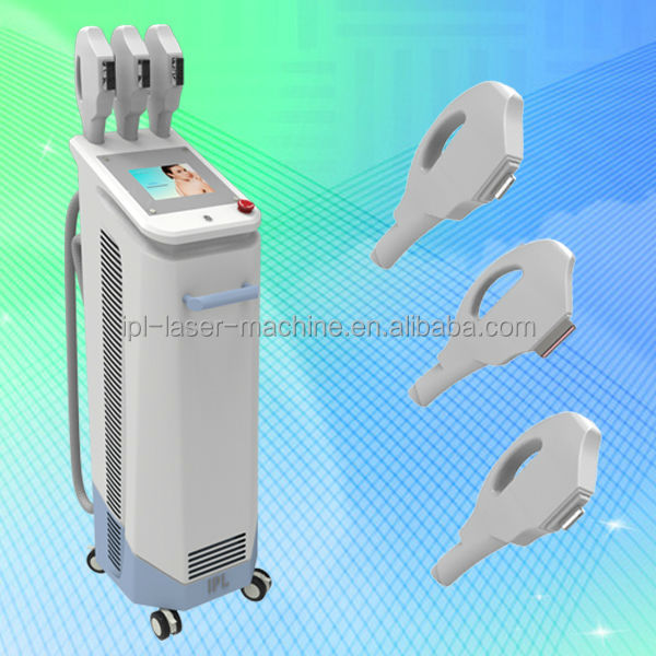 CE approval Super hair removal with 3 Multifunctional Bottom price for personal use nova light ipl