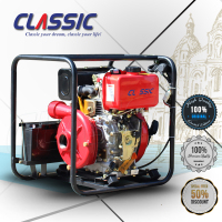 CLASSIC CHINA 4 Stroke Water Pumps, Air cooled CE Certificate Pump Water Supply, 2 Inch Diesel Water Pump