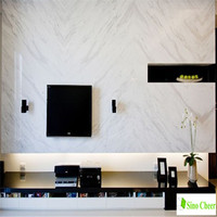 Greece Drama White stone material interior design