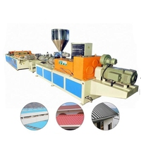 Innovative products high quality pvc corrugated plastic roof sheet machine