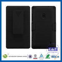 C&T 2014 Hot sale hybrid stand hard case for nokia lumia 520 521