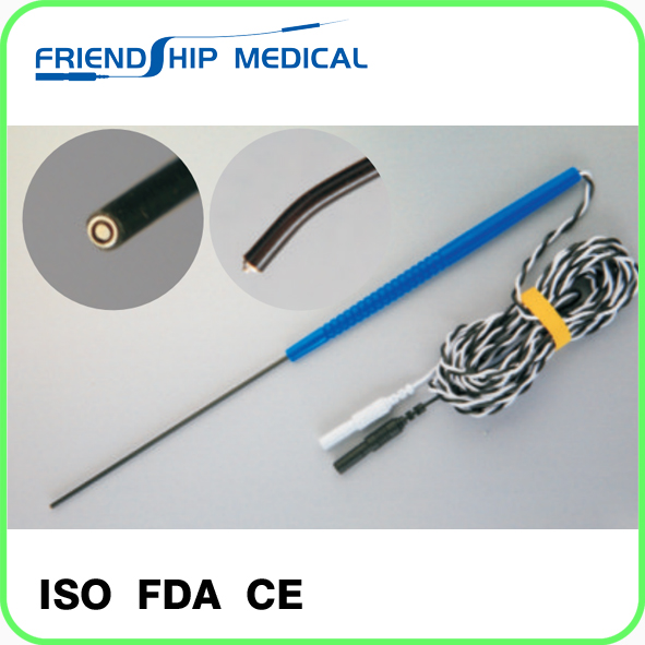 Disposable (Bent) Concentric Nerve Stimulator Probe
