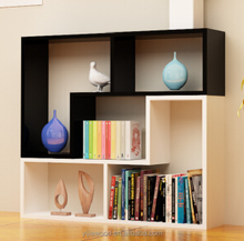 Simple bookcase free combination bookcase