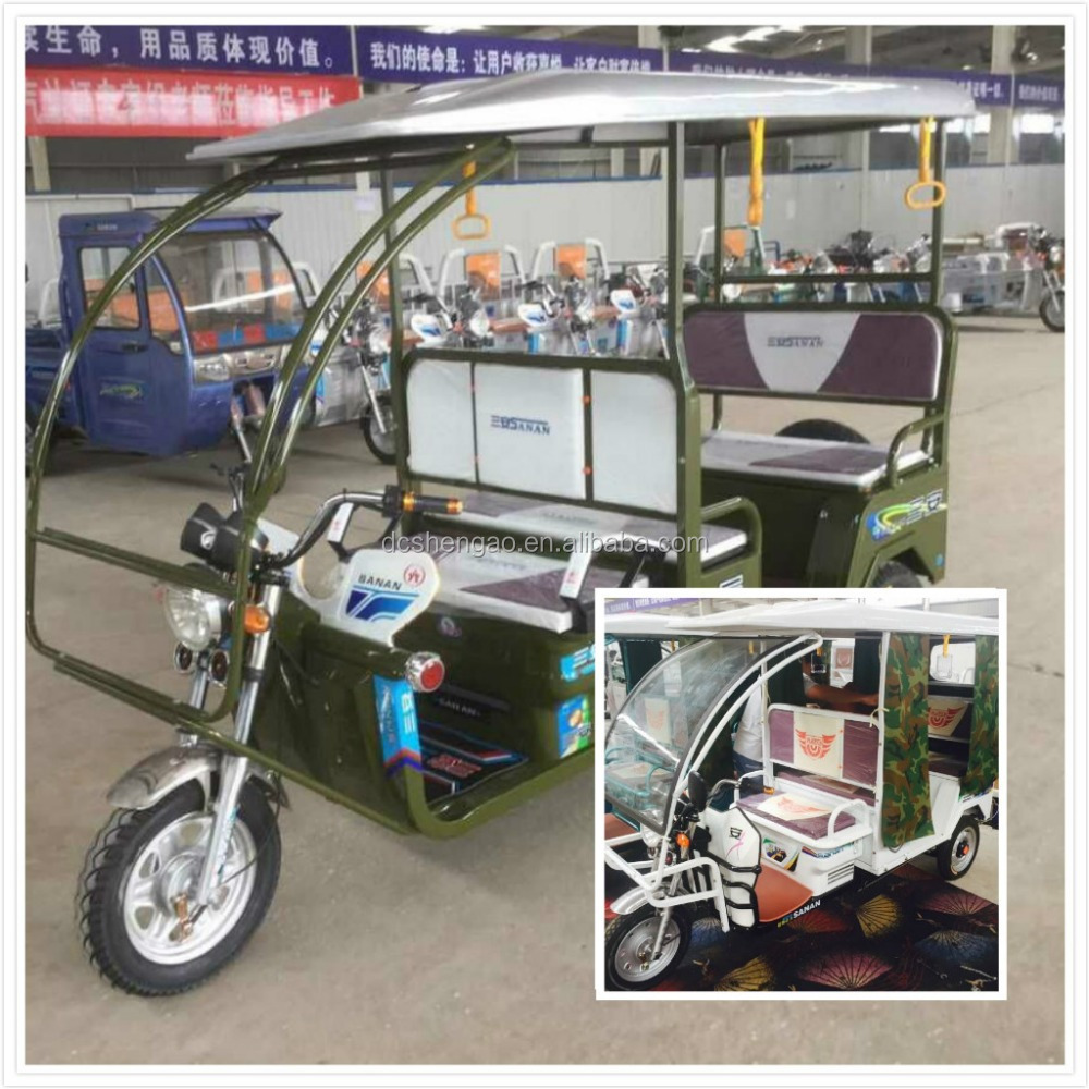 auto rickshaw for india , electric driving type battery rickshaw