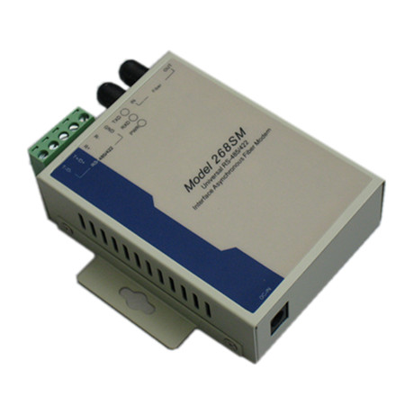 Fiber Optic Equipment RS422/485 to Single Mode Dual Fiber 20km SC/ST/FC Fiber Modem
