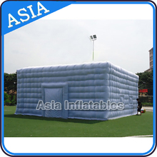 2015 Giant Grey Outdoors Inflatable Ten, Big Inflatable Warehouse, Exhibition Tent For Hire