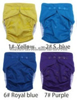 2013 printing color microfiber soft baby diapers and nappies sleepy baby cloth diaper
