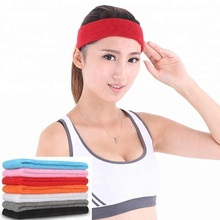 China manufacturer custom weave adjustable elastic headbands wholesale for running women