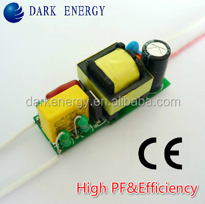10w power led driver with CE bulb lamp high PF isolated