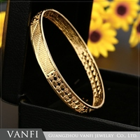 Indian Gold Plated Metal Traditional Bangles Bracelet Fashion Jewelry Jewellery Wholesale