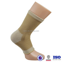custom soft nylon spandex elastic high quality knitted China manufacturer made sports runing protective orthopedic ankle support