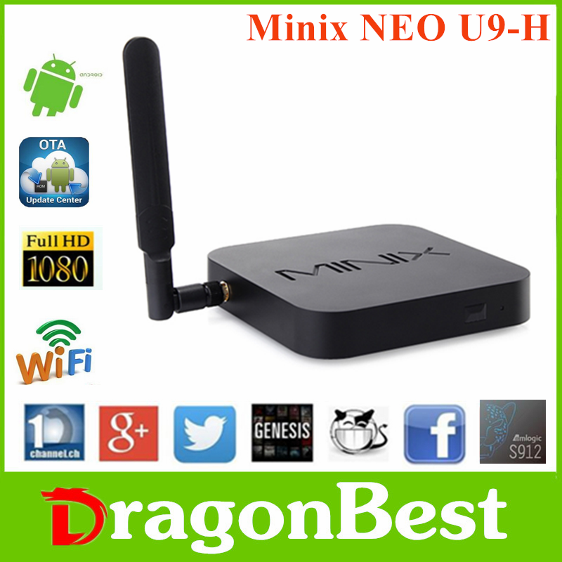 China cheap Minix NEO U9-H S912 2G 16G minix neo a3 air mouse with priceAndroid 6.0 TV Box