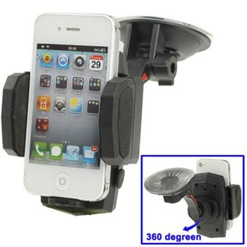 Car Universal Multi-Direction Holder for iPhone 4 / 4S/ Mobile// PDA/ GPS/ MP4,Width:5-13.5cm