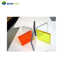 bright color high gloss custom size clear acrylic plastic sheets
