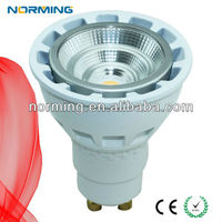 Norming lighting Dimmble 5W gu10 sharp cob warm white for hotel project