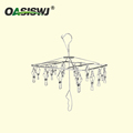 stainless steel cloth rack/Clothespins/Peg/Clothes hanger for hanging drying