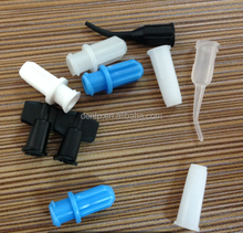 Medical Use Disposable Syringe Luer Lock Caps/ Luer Lock Bottle Caps/Plastic Syringe Caps