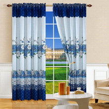 The product is Cheap double layer printing curtain and fabric curtain printed