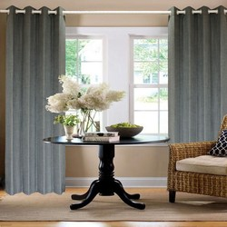 Various colors type of office window patterns bay window blue japanese style curtains