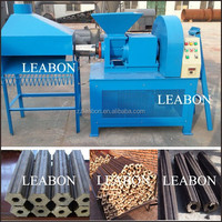 Screw Type BBQ Charcoal Briquette Machine from China Supplier