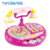 Intercom Phone Toys - Lovely Girl Playing House Pink Mini Baby Phone