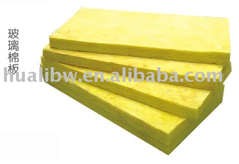 Glass Wool Board as Heat Reflective Material - CE and ISO Certificate