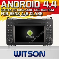 WITSON ANDROID 4.4 AUDIO DVD GPS FOR MERCEDES-BENZ VITO WITH A9 DUAL CORE CHIPSET 1.6GHZ FREQUENCY STEERING WHEEL SUPPORT RDS