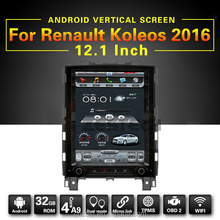 tft lcd monitor touch display screen android gps navigation for Renault Koleos 2016 with dvd player gps radio audio