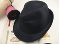 Competitive price Discount cool grey polyester fedora hats