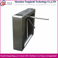 Half height prestige turnstile subway turnstile with ID access control system