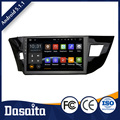 10.2 inch cheap car dvd gps player android for toyota corolla e120 2014