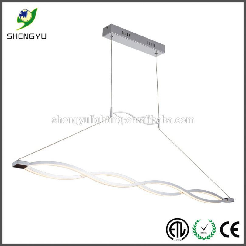 modern decoration led pendant light led fiber optic light