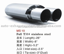 elegant universal type car exhaust muffler