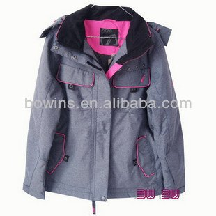 (BWS-1049)2013 Fashional ski wear,ski suit for women