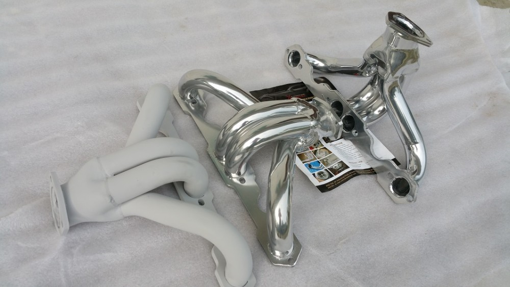 exhaust ceramic coating headers manifold header pipe chevy LS LS1 LS2 LS3 LS6 LS7 L9 HUGGER