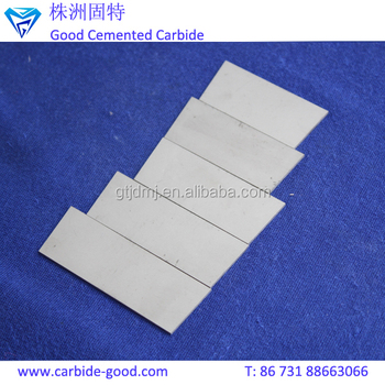 Customized Blank Grinding Tungsten Carbide Plate