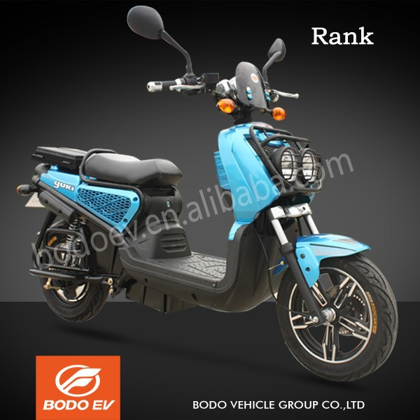 Rank EEC approved powerful electric scooter motorcycle cruiser 50km/h mileage range 50km/charge