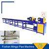 ten years experience round pipe steel twisted pipe machine equipment