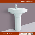 Bathroom pedestal basin