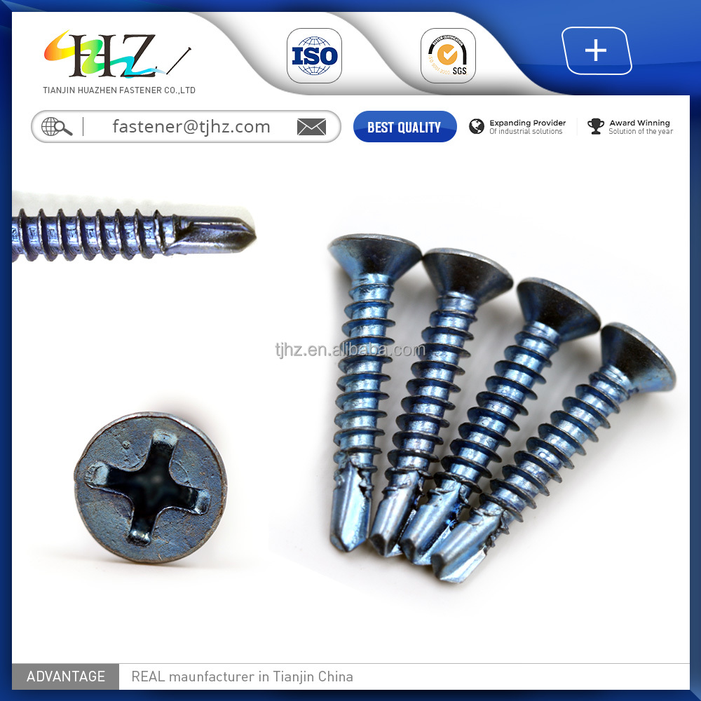Tianjin Factory Direct din7504k hex head Metal Bonded EPDM washer sale self drilling <strong>screw</strong>
