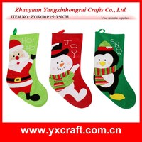 fabric decoration christmas craft - penguin - snowman - santa claus