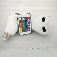 New Android IOS RGBW Wifi Bluetooth Smart Led Bulb Lighting Remote Control Led Lights Bulb